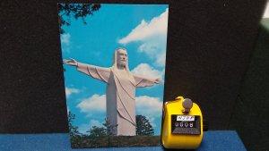 STD Vintage Christ of the Ozarks Giant Statue Eureka Springs Arkansas Unposted