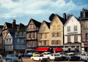 France La Bretagne Morlaix Vieilles maisons place Viarmes