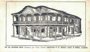 USA The Joe Jefferson House Mobile Alabama 06.01