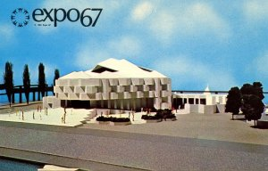 Canada - Quebec, Montreal. Expo 67, Israel Pavilion