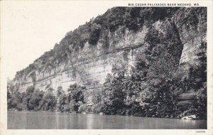 Big Cedar Palisades Near Neosho Missouri Curteich
