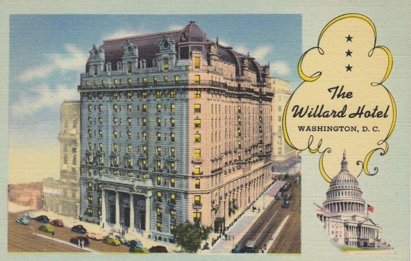 WASHINGTON D.C. , 1930-40s ; Willard Hotel