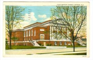 First Baptist Church, Dothan, Alabama, PU-1928