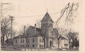 Tarkio Missouri ME Church Real Photo Vintage Postcard JA4741542
