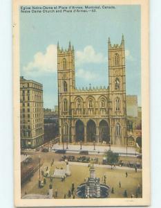 1940's CHURCH SCENE Montreal Quebec QC A9645