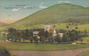 Kirkside Park, Gould Church and House, Roxbury, New York, PU-1909