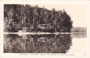 RP, Shadows At Sun-Down, One Of The Cabins At Canadian Lodges, Canada, 1920-1...
