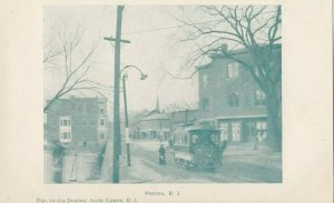 PHENIX , Rhode Island, 1901-1907; Street w/ trolley