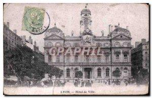 Postcard Old Lyon City Hall