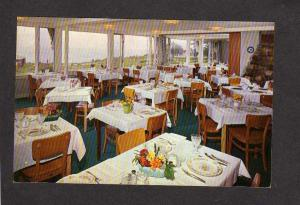 ME Shawmut Inn Hotel Kennebunkport near Kennebunk Maine Restaurant Postcard