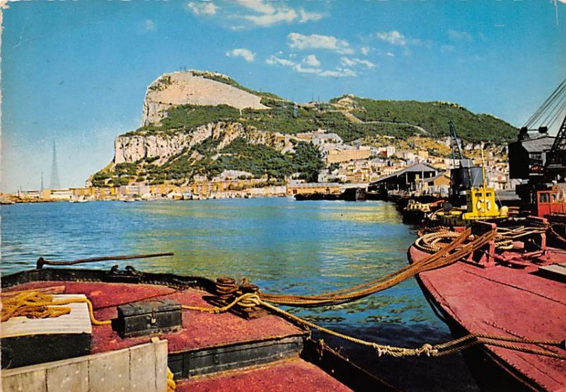 View from Harbour Gibraltar 1966