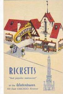 Illinois Chicago Ricketts That Popular Resturant