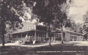 Ann McKee Recreation Hall Y M C A Camp Grandview Michigan Artvue