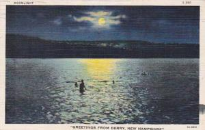 New Hampshire Greetings From Derry 1942 Curteich