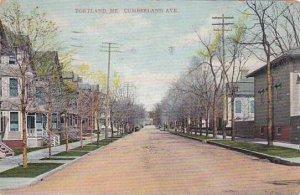 Maine Portland Cumberland Avenue 1925