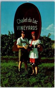 Altus, Arkansas Postcard CHATEAU DE LAC VINEYARDS Wiederkehr Wine Cellars 1960s