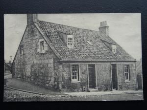 Scotland Dunfermline ANDREW CARNEGIE Birthplace c1905 Postcard by W.R. & S.