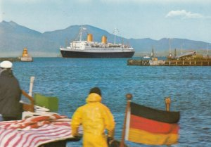 Ocean Liner MS EUROPA , 50-70s