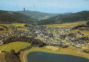 Niedersfeld Hochsauerland Gesamtansicht See Lake Panorama
