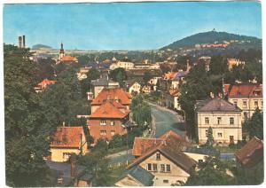 Czech Republic, VARNSDORF, General view, used Postcard
