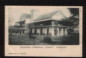 053398 INDONESIA Hoofdgebouu Etablissement Selabato Vintage
