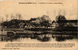 CPA   Environs de Sens (Yonne) - Le Monastére et la Ferme de Sainte-.. (358245)