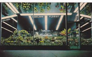 Exterior View, Window of Roselawn Florists, Floral Designs, Downtown Vancouve...