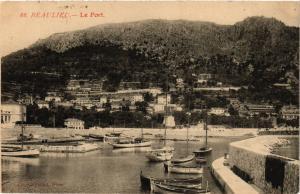 CPA BEAULIEU - Le Port (351475)