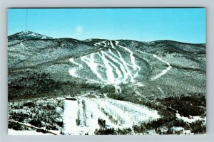 Wilmington VT- Vermont, Haystack Mountain Ski Area, Chrome c1977 Postcard