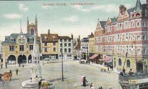 Peterborough , England , 1900-10s ; Market Place