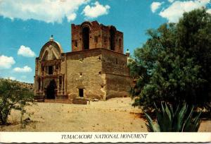 Arizona Santa Cruz County Tumacacori National Monument Mission Church Of San ...