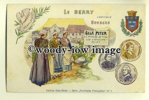 su1662 - Gala Peter Milk Chocolates - French Provinces Series - Bourges