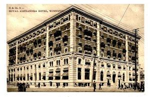 Canada - Manitoba, Winnipeg. Royal Alexandria Hotel