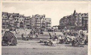 Belgium De Panne La Digue 1956