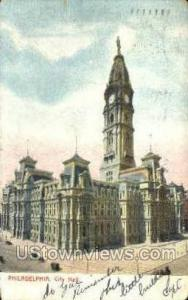 City Hall, Philadelphia Philadelphia PA 1906