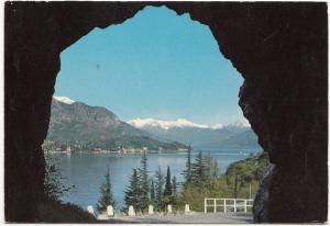 Italy, Lago di Como, view, 1972 used Postcard