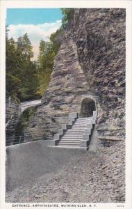 New York Watkins Glen Entrance Amphitheatre