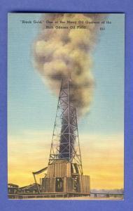 Odessa Texas/TX Postcard, Odessa Oil Field, Near Mint!