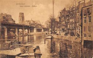 Netherlands Rotterdam Open Rijstuin-Steiger, Boats 1911