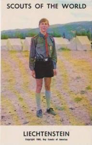 Boy Scouts of the World: Liechtenstein, 1968