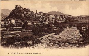 CPA CORSE Corte- La ville et la Riviére. (711567)