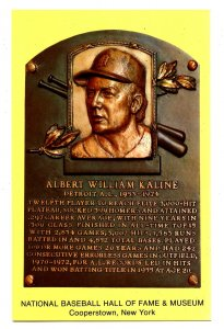 NY - Cooperstown. National Baseball Hall of Fame, Al Kaline