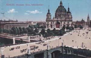 BERLIN, Germany, 1900-1910's; Museum, Dom, SchloBbrucke