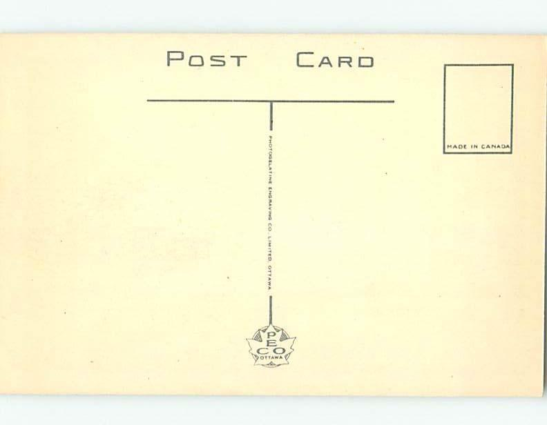 Unused 1940's STREET SCENE Brockville - Thousand Islands Ontario ON W1696