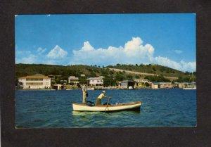 PR La Parguera Fishing Village Lajas Puerto Rico Postcard Care Postale