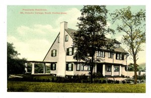 MA - South Hadley. Mt Holyoke College, President's Residence