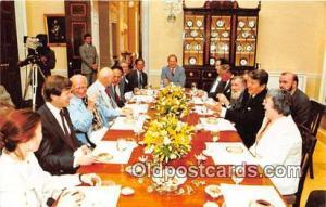 Soviet Dissidents Postcard President Reagan