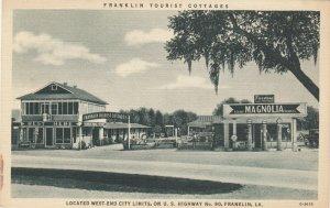 FRANKLIN, LA, 30-40s; Tourist Cottages & Gas Station