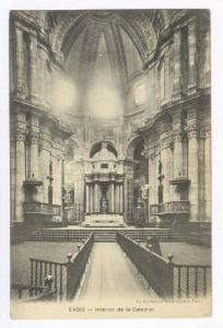Cadiz, Spain, 00-10s   Interior de la catedral