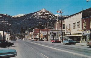 ROSSLAND , B.C. , Canada , 50-60s ; Main Street